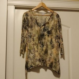 Northern Reflections - Pretty Blouse XL